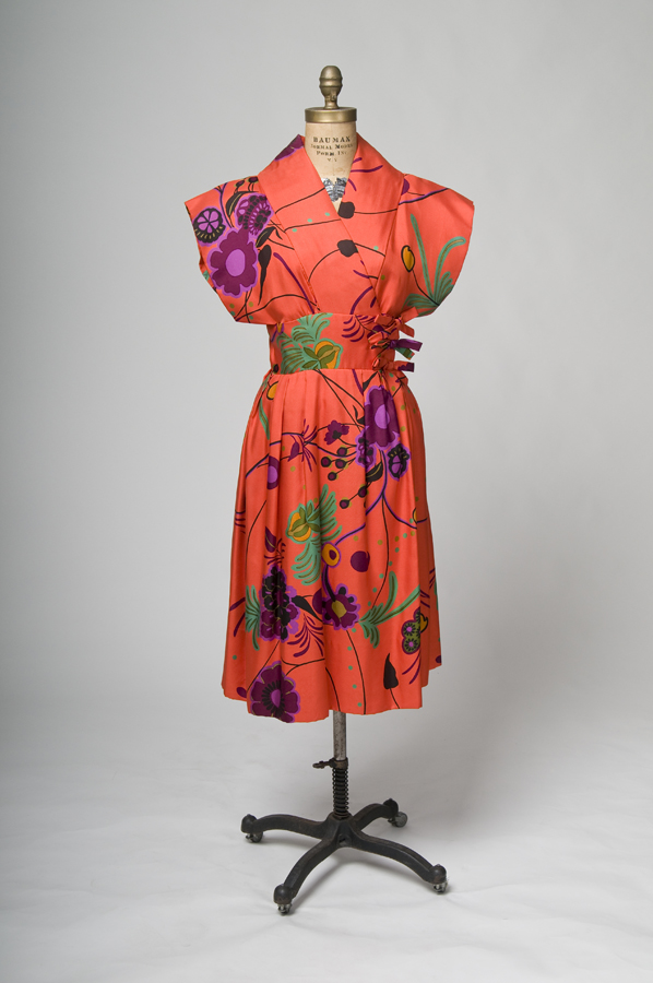 Norman Norell cocktail dress