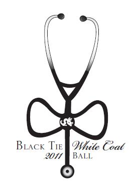 Black Tie White Coat logo