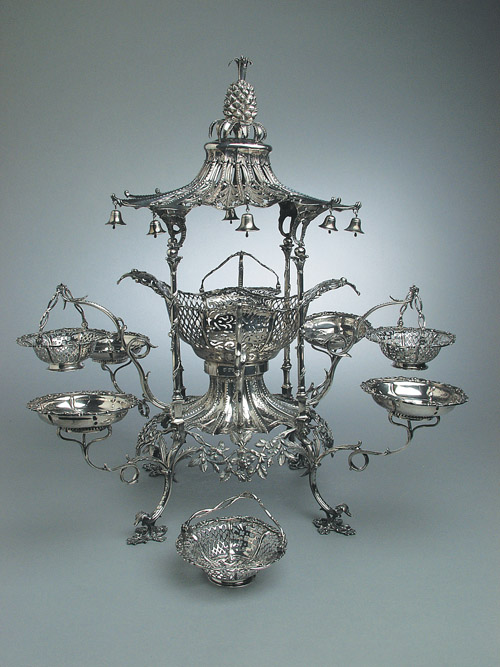 From The Collection George Iii Silver Epergne 1765 Now