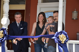 Home purchase assistance program ribbon cutting