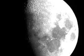 Observatory moon