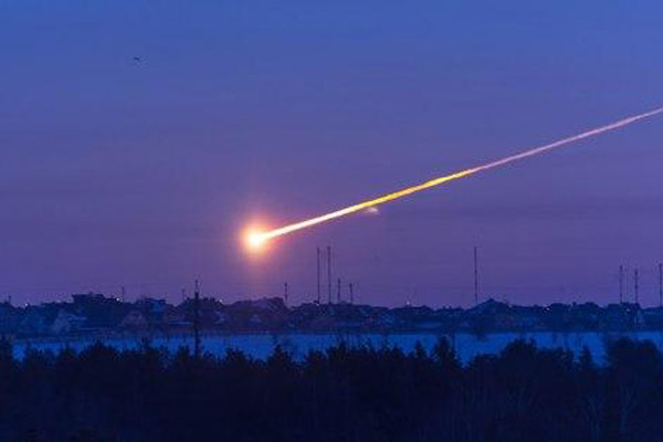 Russian meteor Feb. 15