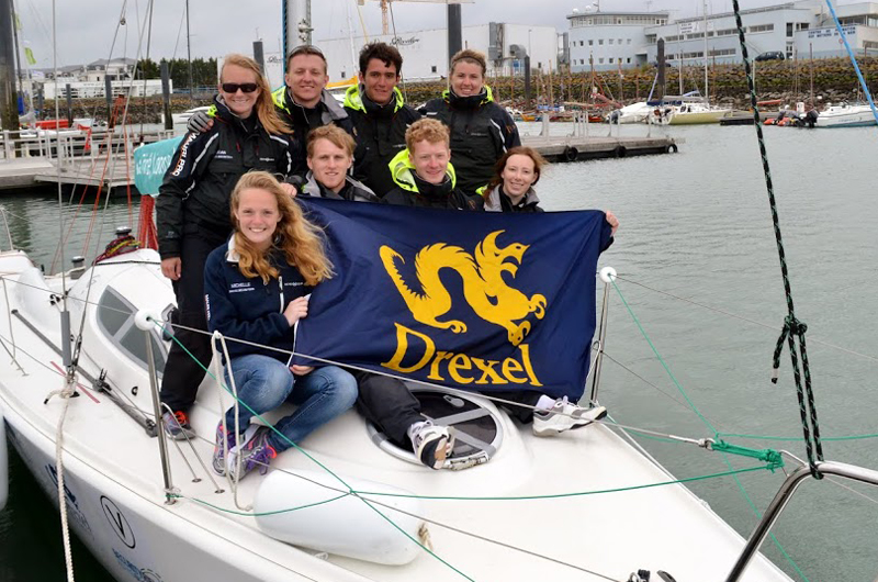 Drexel's growing sailing team