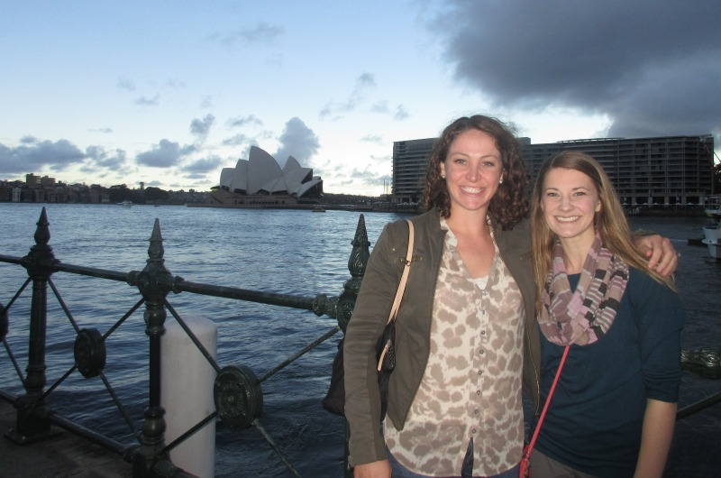 Australia: Kara Spiller (left) and Pamela Graney in Sydney.