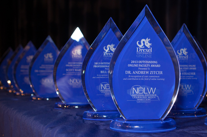 Awards from the 2013 National Distance Learning Week celebration