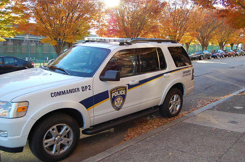 Drexel police vehicle