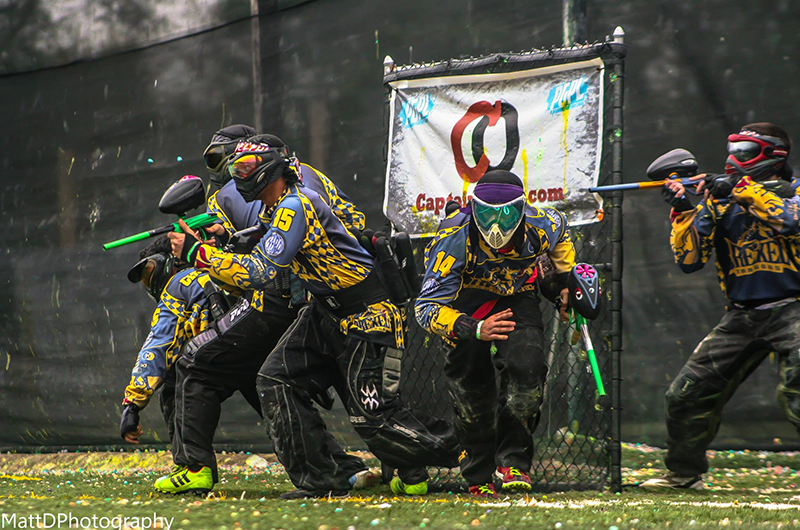 The Drexel Paintball team is back and ready for action after a four-year hiatus.