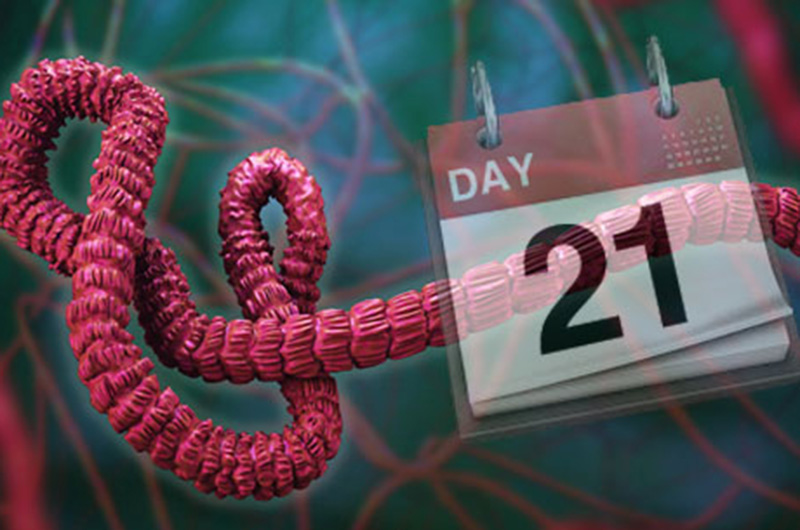 21-day quarantine for Ebola virus maybe not long enough