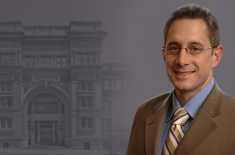 Image of David Unruh, senior vice president for Institutional Advancement at Drexel