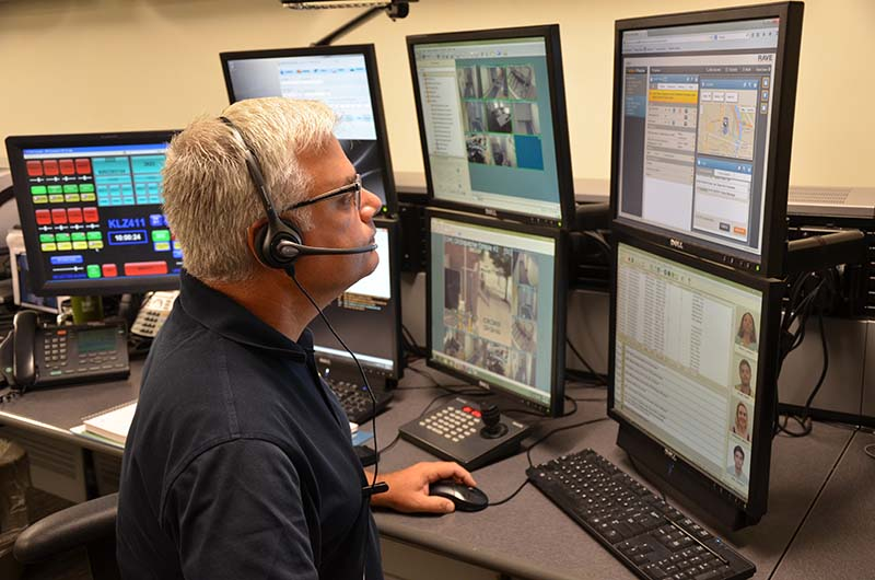 Department of Public Safety dispatcher Morgan Meehan, one of several individuals on the receiving end of your Drexel Guardian service, can use the information you share through the app to help assist you in an emergency.