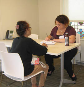 Law students gain firsthand experience working with real clients in need of legal services.