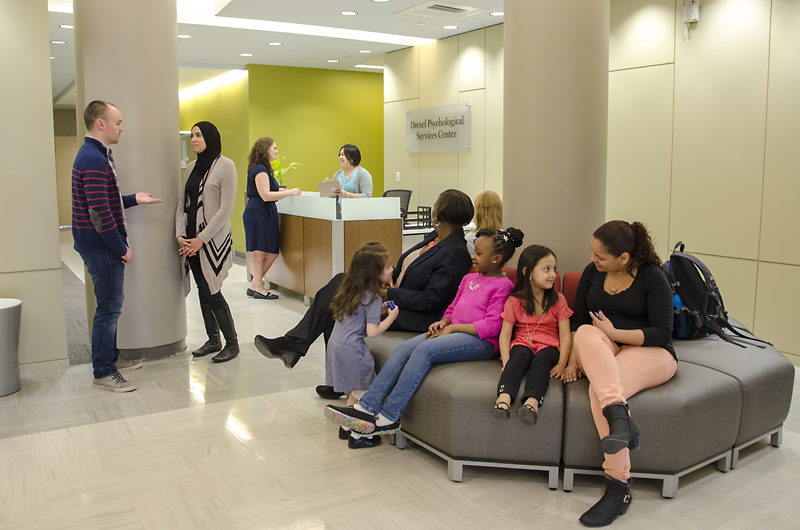 Clients of all ages are welcomed at Drexel's Psychological Services Center.