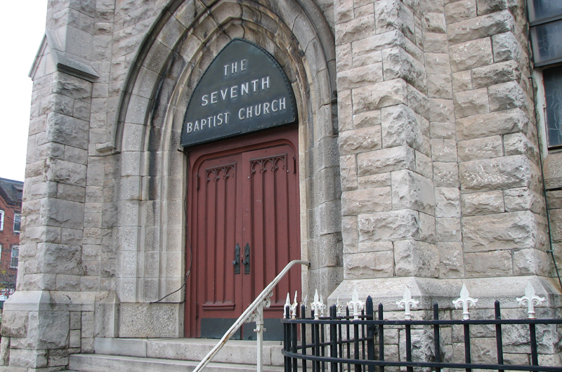 Seventh Metro Chuch in Baltimore was one of the six historic spaces that participated in the study.
