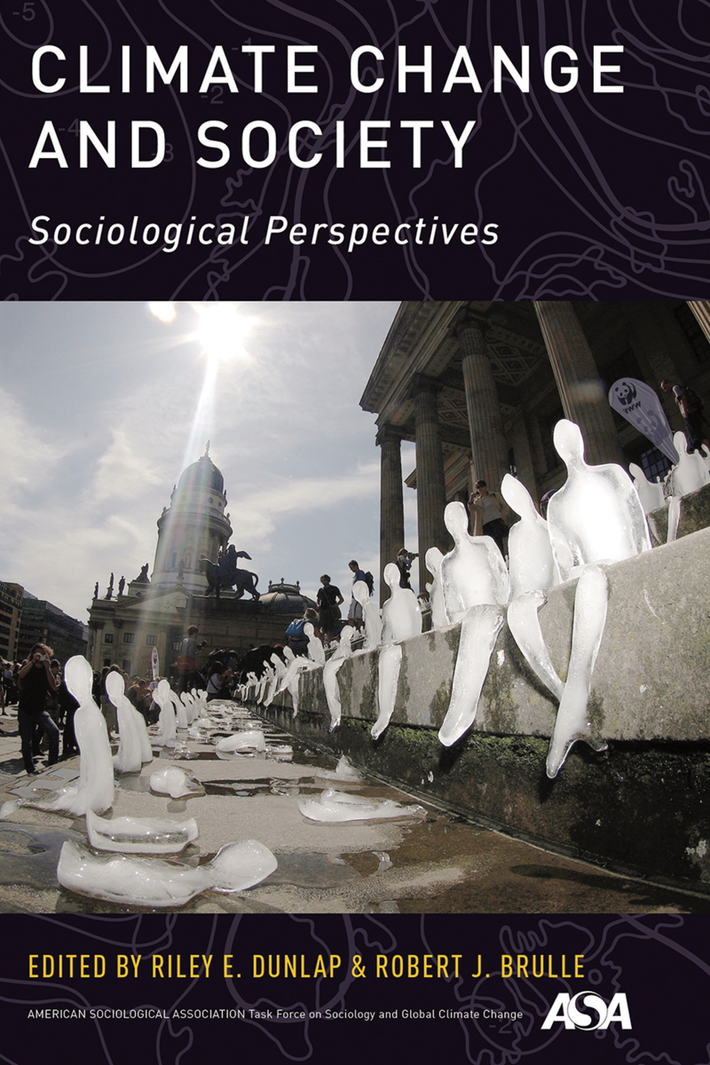 """Climate Change and Society: Sociological Perspectives"" is scheduled for release from Oxford University Press in September."