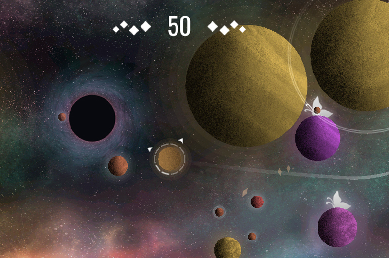 A look at the orbit-based Starbright, developed by students in the Drexel Entrepreneurial Game Studio. Courtesy of Lunar Rabbit.