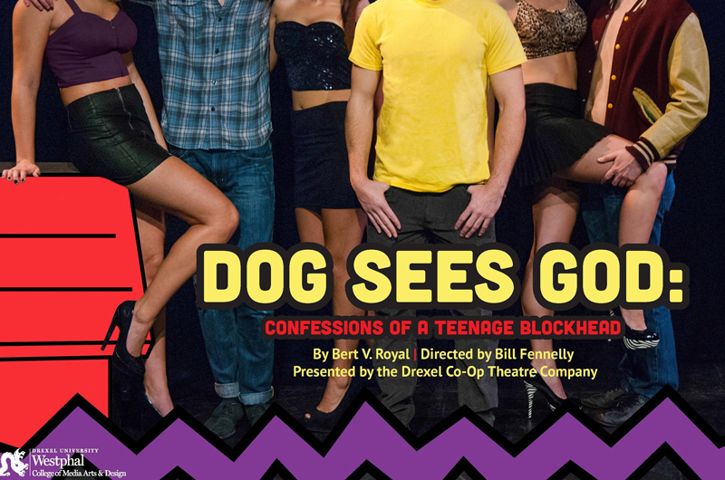 "The Drexel Co-op Theatre Company will stage a production of ""DOG SEES GOD: Confessions of a Teenage Blockhead"" from Feb. 12-21."