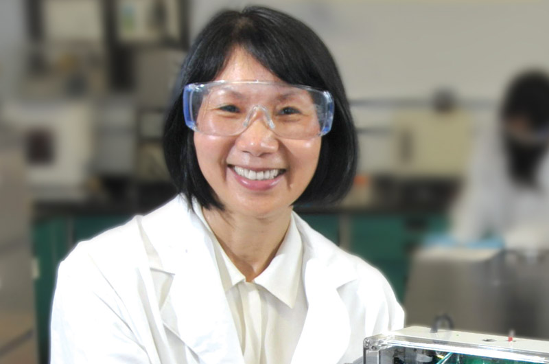 Wan Shih, PhD, a biomedical engineering professor recently granted a fellowship in the National Academy of Inventors