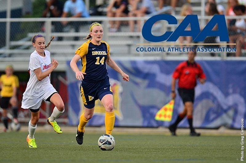 Senior women's soccer defender Melissa Chapman made first team all-Colonial Athletic Association.