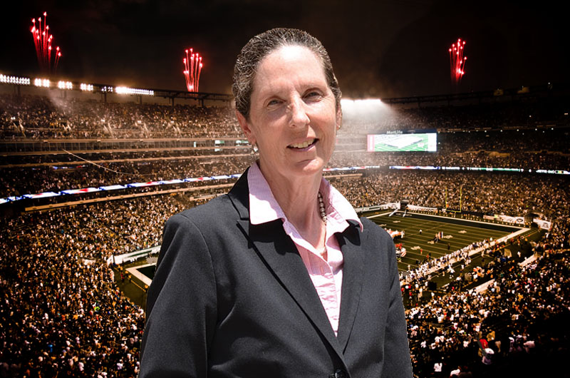 Sports Management Professor Ellen Staurowsky