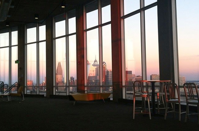 A view of Philadelphia's skyline. Photo by Alexandra Atiyeh, BS environmental science '16.