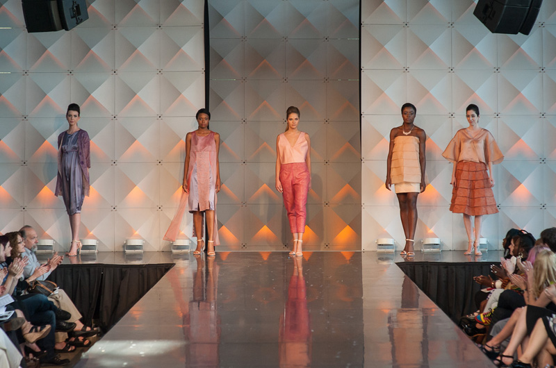 One of the collections featured in Drexel's annual fashion show this year.