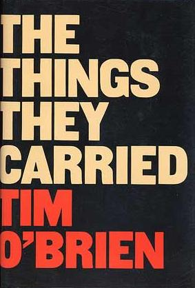 "Cover of the first edition of ""The Things They Carried,"" one of the novels students in ""War Stories"" have read."