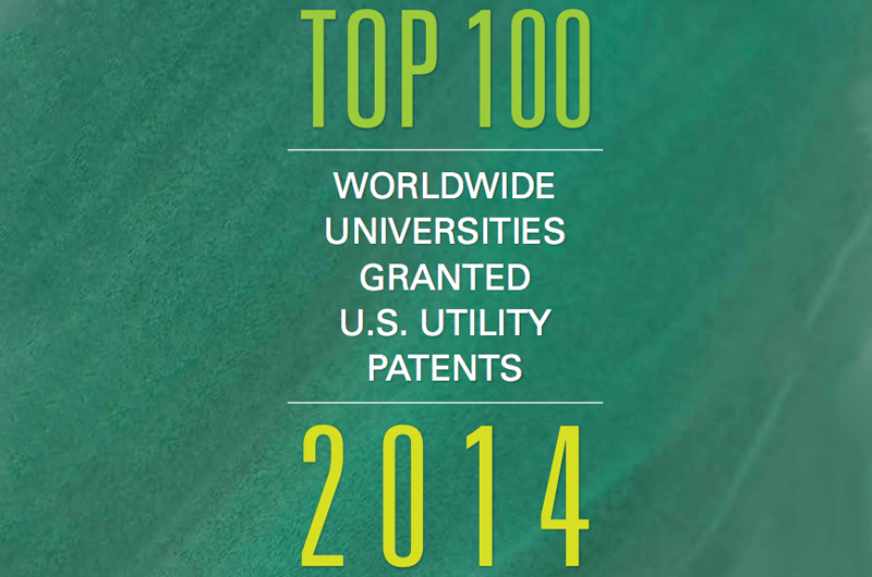 Top 100 Worldwide Granted U.S. Utility Patents 2014