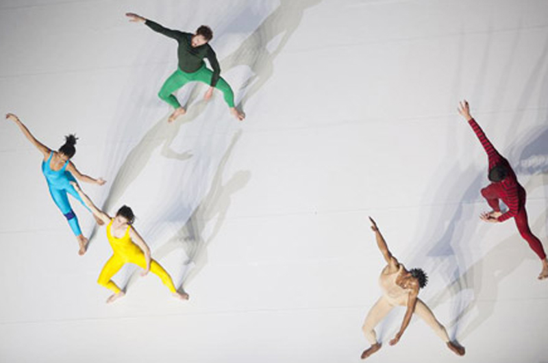 Photo of Charmatz performance at MoMa