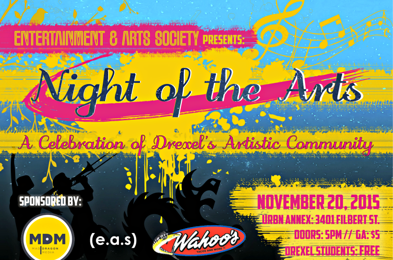 Night of the Arts will be hosted November 20.
