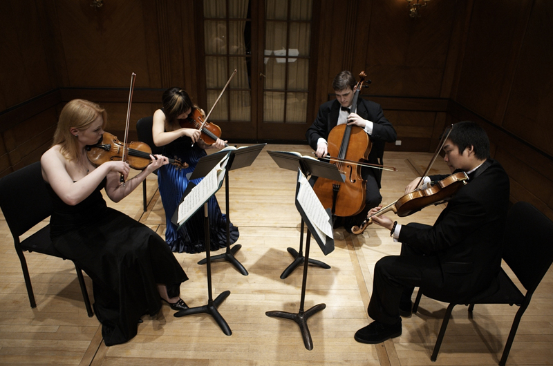 A string quartet from the Curtis Institute of Music will be among the musicians performing at the Dornsife Center's monthly dinner.