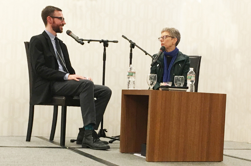 "Drexel's Jordan McClain interviewed legendary ""Fresh Air"" host Terry Gross."