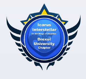 The logo for Drexel's Icarus Interstellar chapter.