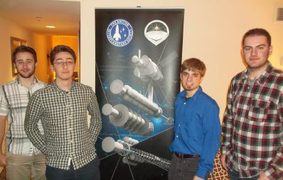 Members of Drexel's Icarus chapter while in Atlanta to discuss the Zeus project.