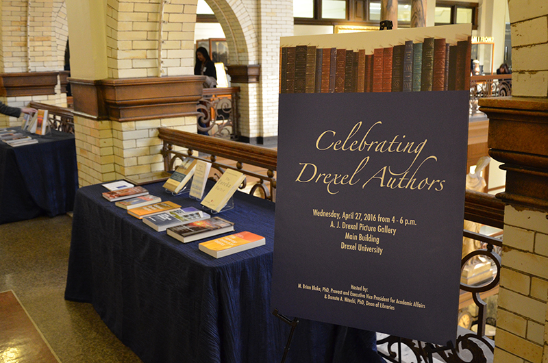 Celebrating Drexel Authors