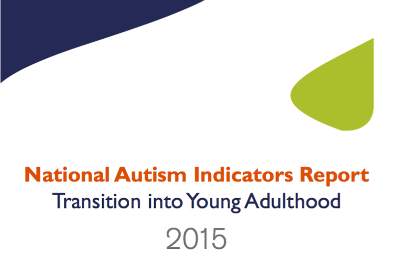 Logo for the National Autism Indicators Report 2015: Transition into Young Adulthood