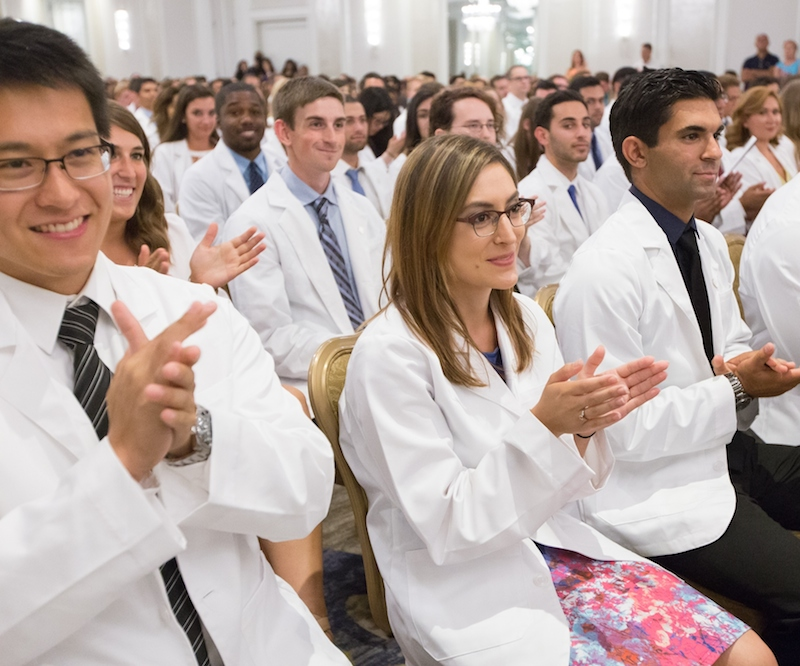 Class of 2020 Receives First White Coats | Now | Drexel University