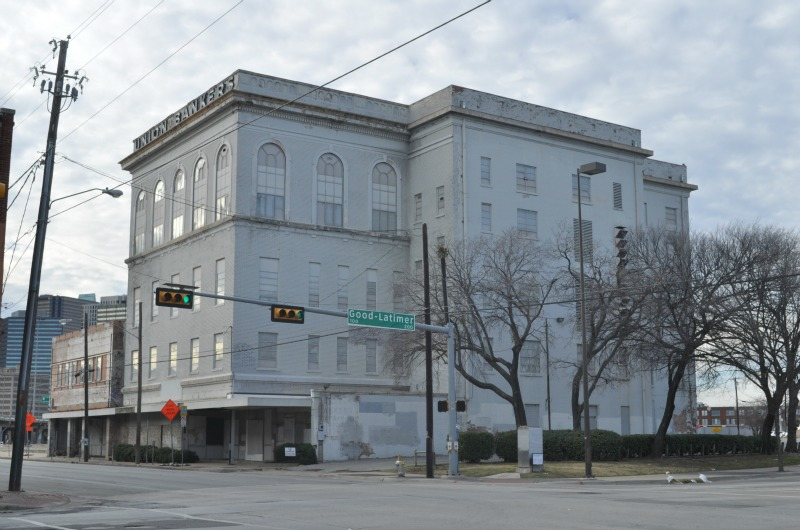 The building that formerly housed the Knights of Pythias Temple, which William Sidney Pittman designed in the beginning of the 20th century.