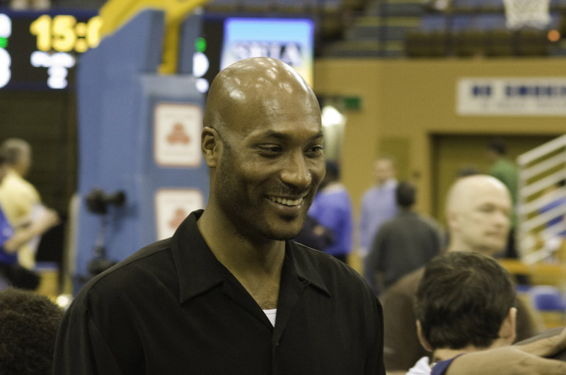 Ed O'Bannon, retired pro basketball player and lead plaintiff in the antitrust class action lawsuit O'Bannon v. NCAA, will be a panelist at the CARE Conference. Photo credit: Jack Rosenfeld.