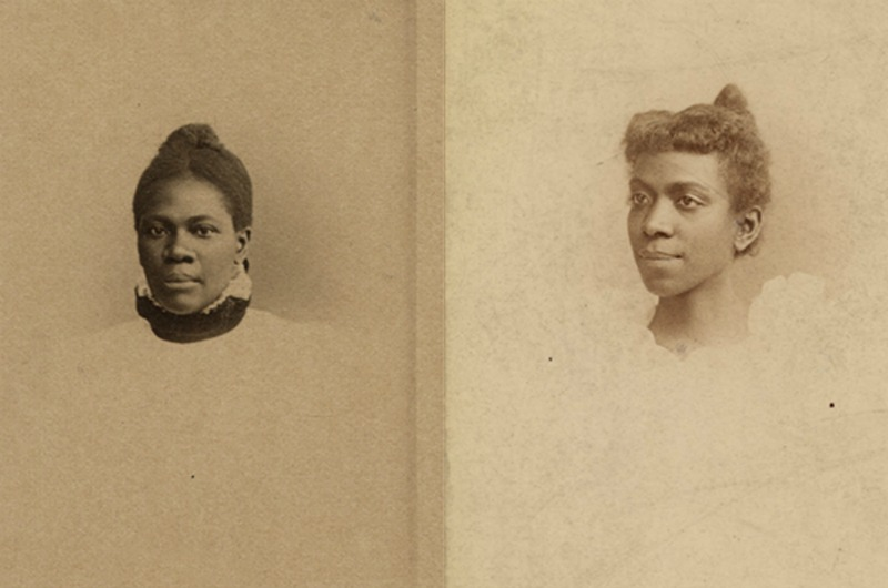 WMCP Class of 1897 graduates Eliza Grier, MD, left, and Matilda Evans, MD, the first African-American women to become physicians in Georgia and South Carolina, respectively. Photos courtesy Legacy Center Archives, Drexel College of Medicine.