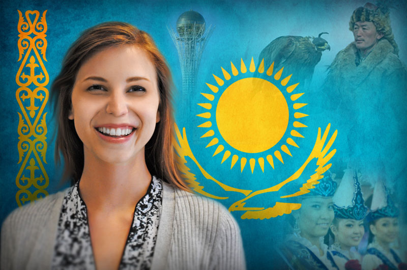 Caitlin Walczyk will be the first Drexel student to receive a scholarship or fellowship to study in Kazakhstan.