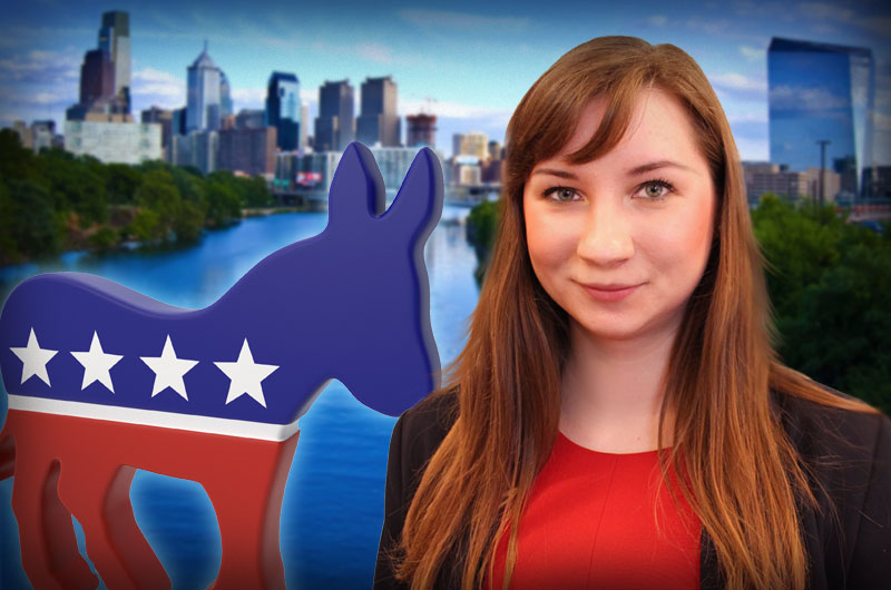 College of Arts and Sciences student Greta Jusyte interned with the Philadelphia Host Committee to help put on the Democratic National Convention.