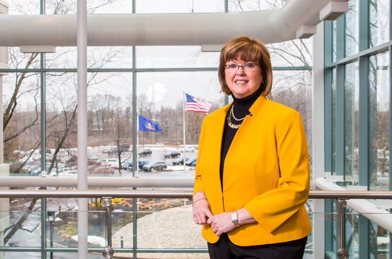 Eileen McDonnell, president and CEO of Penn Mutual and Drexel's 2016 Business Leader of the Year