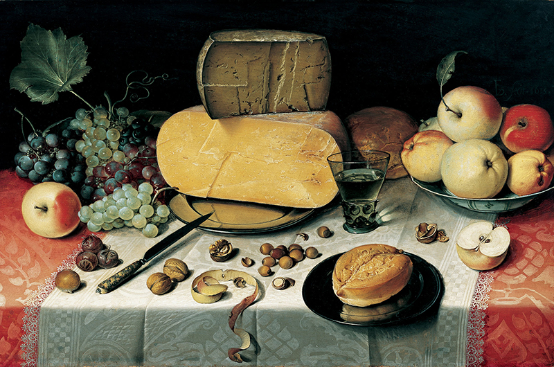 Still life by Floris van Dyck, 1610