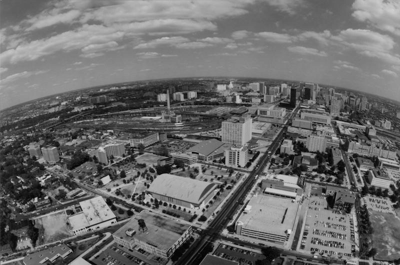 1985 Aerial View of Drexel University