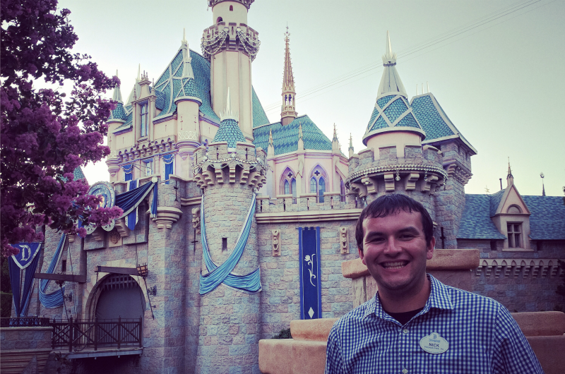 Riding the Rails During a Disneyland Co-op | Now | Drexel University