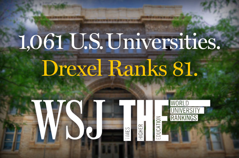 Drexel rankings.