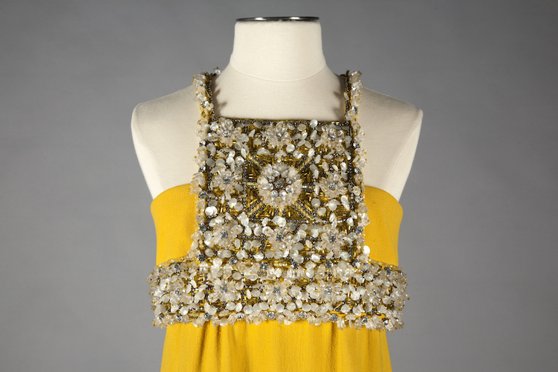 James Galanos Evening Dress