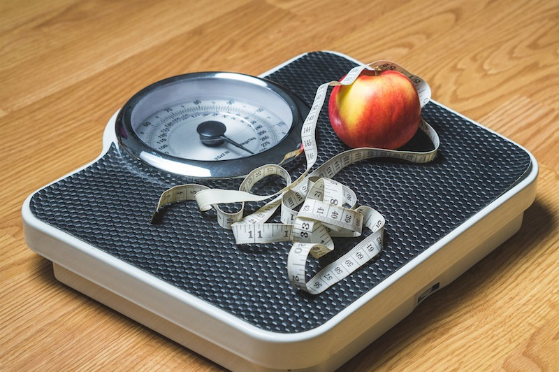 scale with apple and measure