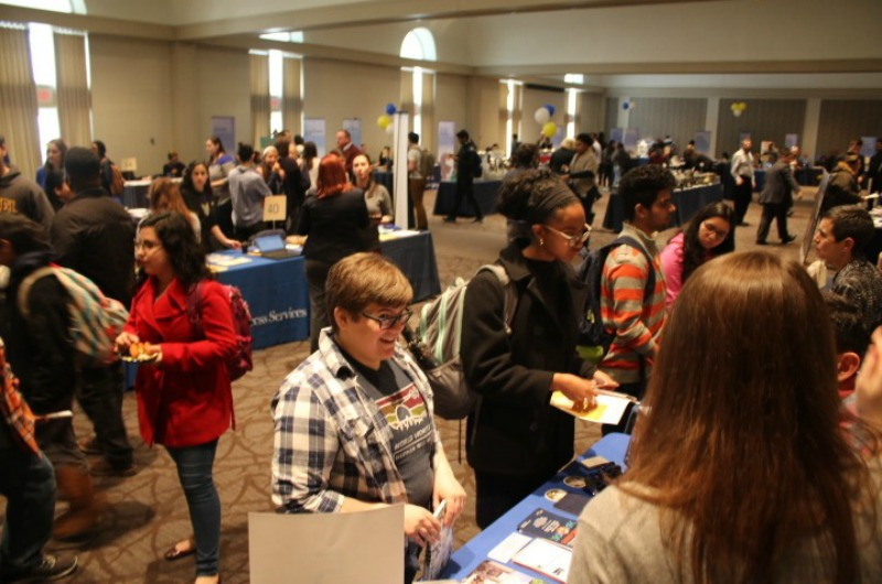 Drexel's Academic Opportunities Fair.