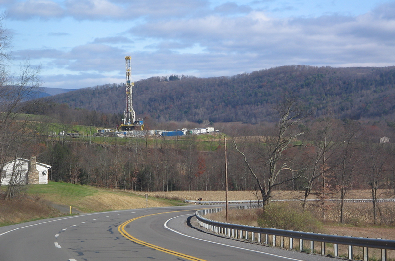 Marcellus Shale gas tower